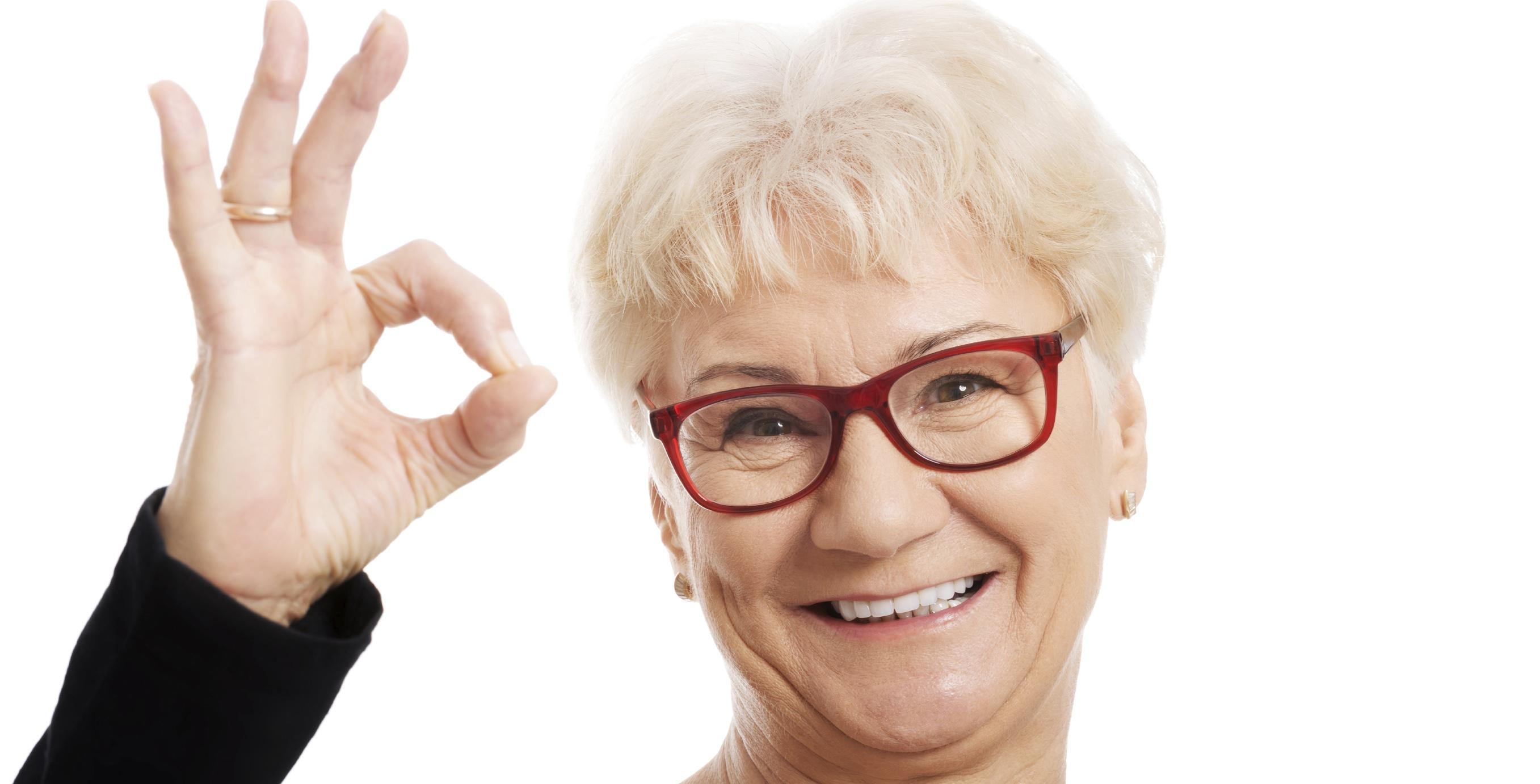 Женщина в очках 19 фотография